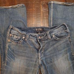 Silver jeans 34W